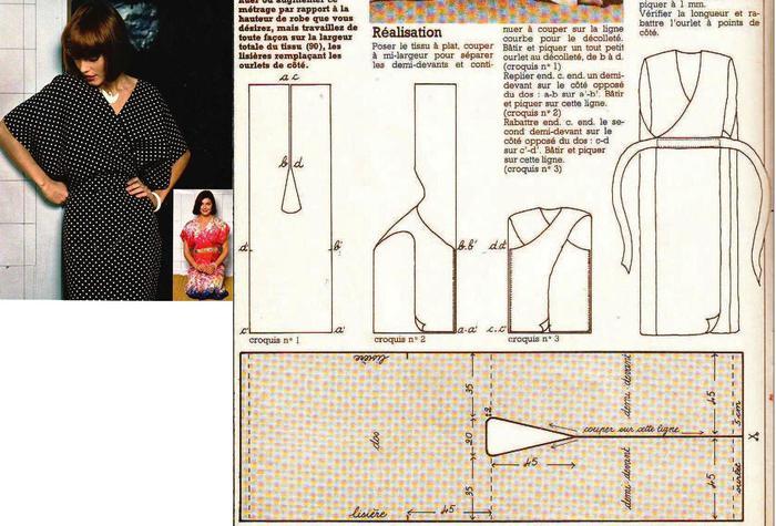 Как сшить домашнее платье без выкройки 24