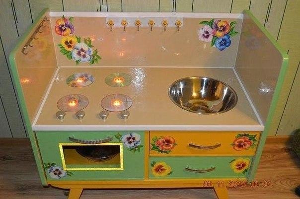 Плита для детской кухни