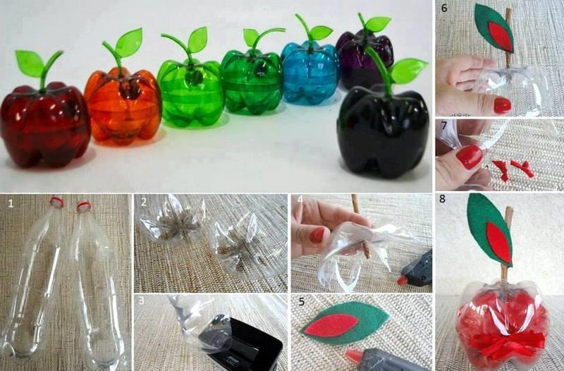 Поделки из пластиковых вещей