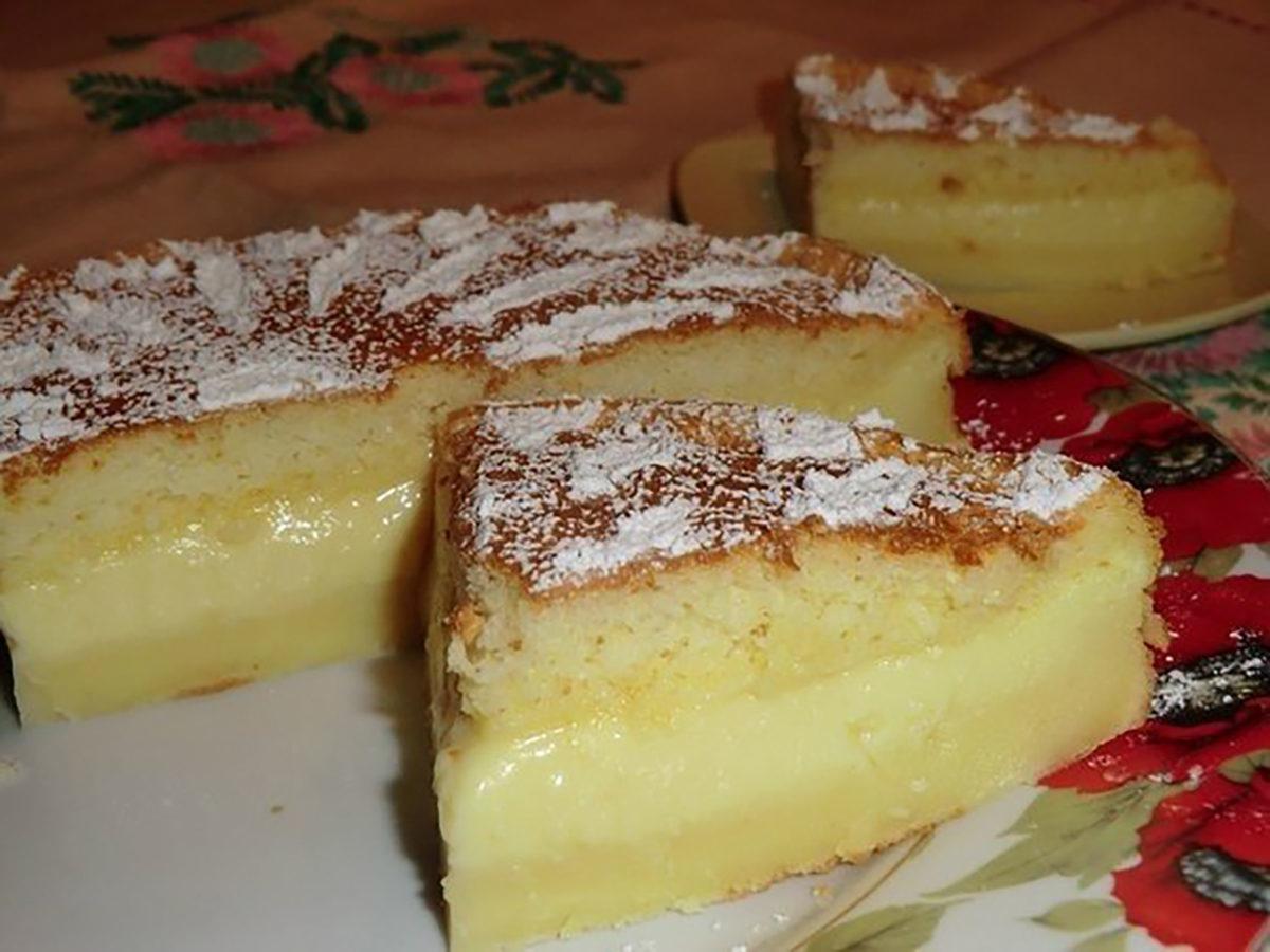 Волшебное пирожное рецепт пошагово