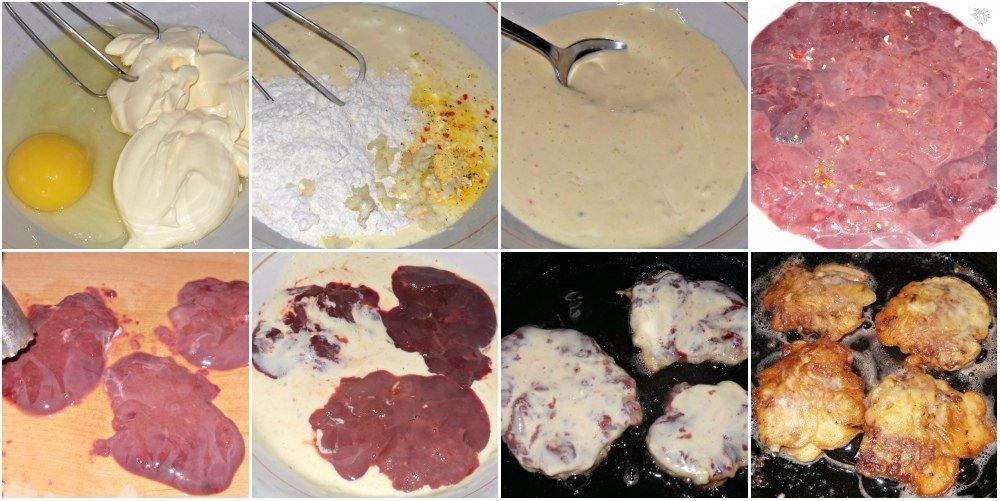 Как вкусно приготовить печень куриную пошаговый рецепт