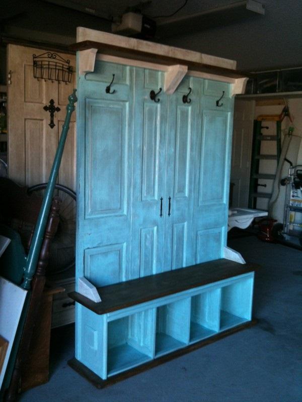 Мебель своими руками для прихожей из старой мебели 115