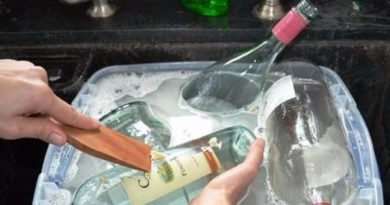 Женщина долго возилась с грязными бутылками. Когда я учтиво спросил, в чём дело, получил сюрприз!