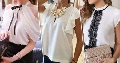 Тренд, который нельзя пропустить. Привлекательные, но строгие белые блузы — 15 моделей!
