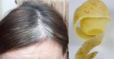 Самое мощное средство от седых волос. Волосы будут выглядеть как натуральные!