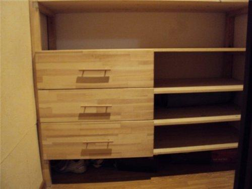 Как сделать гардеробную своими руками в домашних условиях из дерева 77