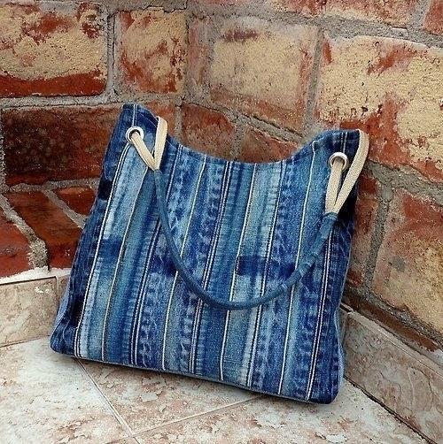 Сшить сумку своими руками из старых джинсов