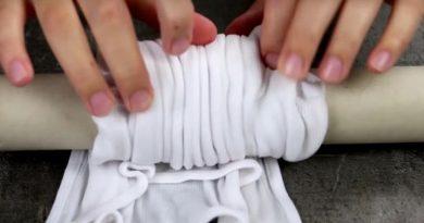 Она поместила свою футболку на решетку духовки…Гениальная идея