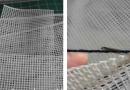 Пластиковая канва,крючок и нить…За пару минут мастерица сотворила очень практичную вещь