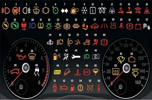 Значки на панели вашего автомобиля! Вот что они означают. полный список
