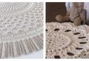 Очаровательные вязаные коврики, которые дарят уют,вних ощущается тепло заботливых рук хозяйки