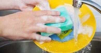 Моющее средство для посуды из хозяйственного мыла своими руками