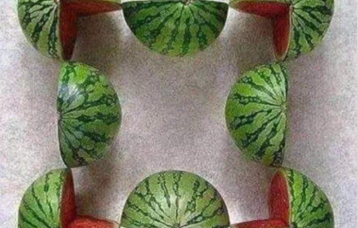 Сколько арбузов вы видите на картинке