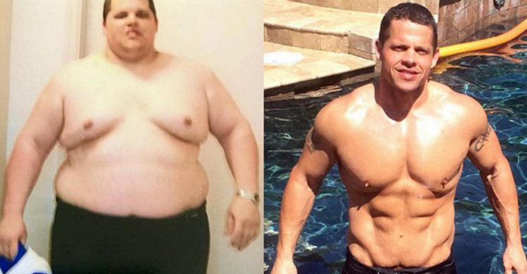 One giant American lost 90 kg after having to buy TWO PLACES on a plane