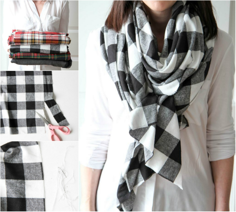 Как сшить шарф снуд из ткани Как сшить шарф: 5 сумасшедших идей