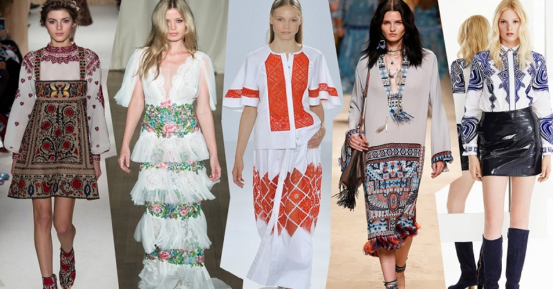World fashion boom with embroidered shirts: just a look …