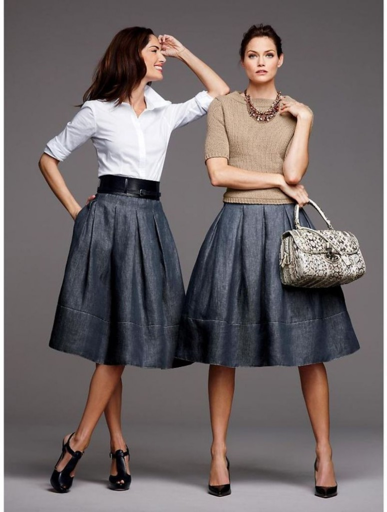 What do you wear to dresses and skirts this year? Great examples