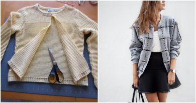 В вашем шкафу завалялся старый свитер или свитшот: стильные идеи по переделке…