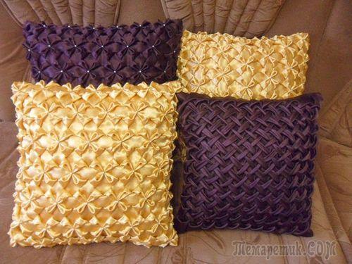 Декоративные подушки своими руками мастер класс схемы фото 258