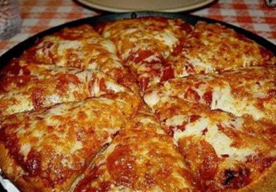 """″Пицца-блин"""": вы можете приготовить ее за 10 минут. Все гениальное – просто!"""