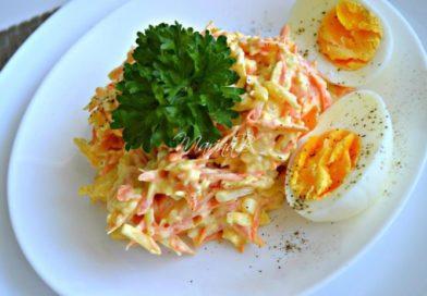 Французский салатик с морковью и сыром — готовьте побольше!