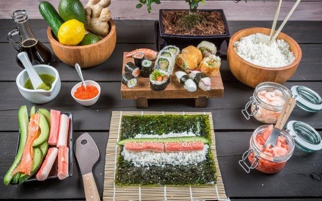 Как сделать суши рецепт фото 784