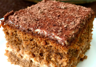 Кофейный торт на скорую руку