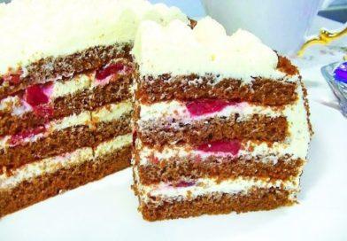 Потрясающий торт к любому торжеству!