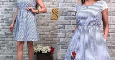 Платье из льна: виды и достоинства