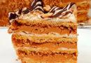 Торт «Воздушный сникерс» для настоящих сладкоежек. Хрустящий и хрупкий